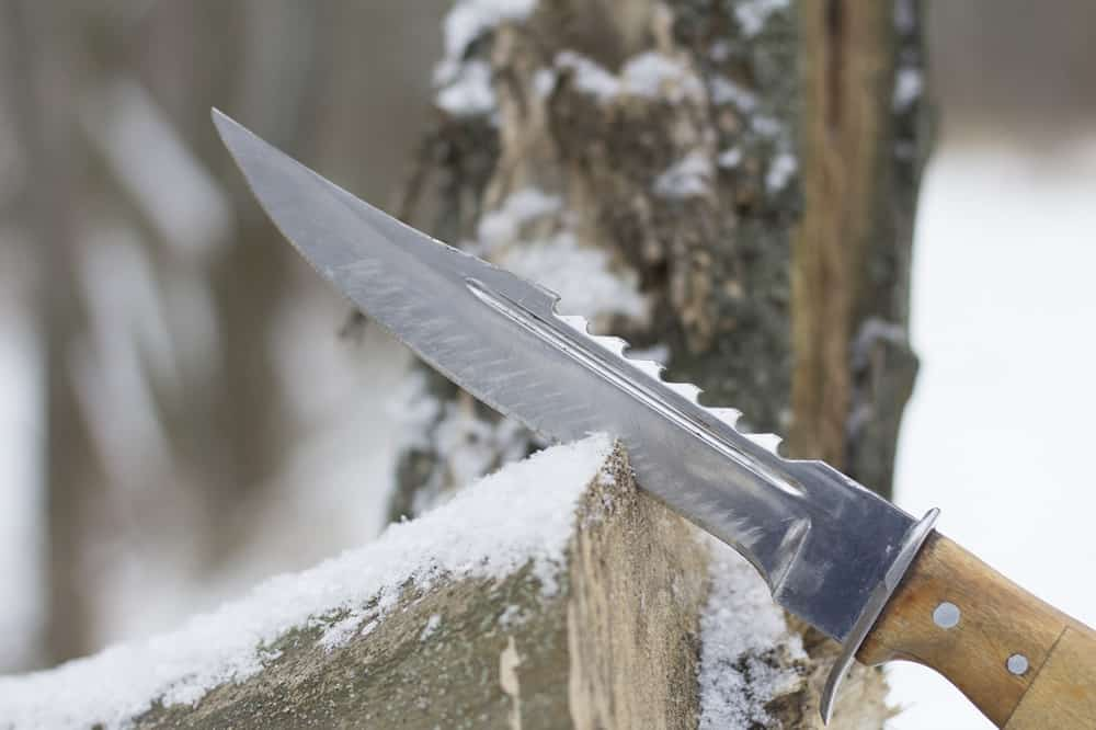 What is The Serrated Edge of A Knife For - bushcrafttool